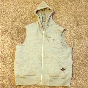 Hooded Polo vest